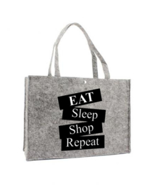 Vilten shoppingtas ♥ Eat-sleep-shop-repeat