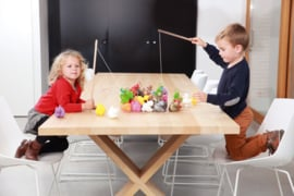 Scratch - Kermiseenden set regenboog