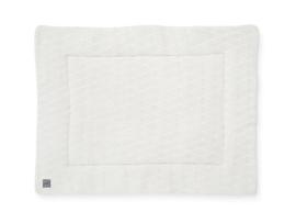 Boxkleed 80x100cm River knit cream white