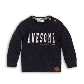 Dirkje sweater navy melee - Awesome