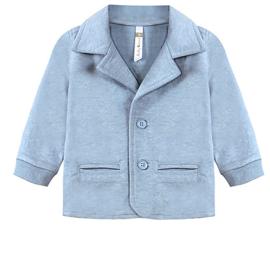 Ducky Beau vest - Blue Melange