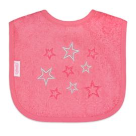 Slab, roze met sterren.