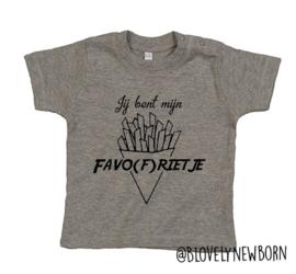T-shirtje ♥ Favo(f)rietje