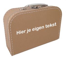 Kinderkoffertje ♥ eigen tekst