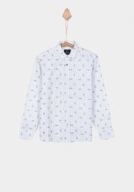 Tiffosi blouse Guy - White