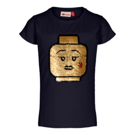 Lego Wear - Meisjes t-shirt Tone 308, Dark Navy