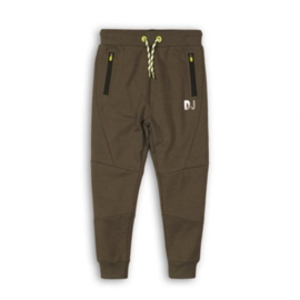 DJ Dutchjeans jongens jogging broek - army green, black