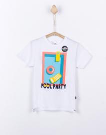 Tiffosi wit t-shirt boys - Coler