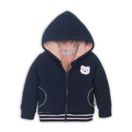 Dirkje - baby cardigan navy blue