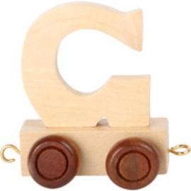 Lettertrein - letter G