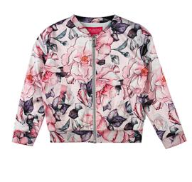 Vinrose jas/vest - KACY - Aop Flower
