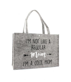 Vilten shoppingtas ♥ Cool Mom