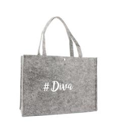 Vilten shoppingtas ♥ Diva
