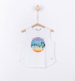 Tiffosi - Wit t-shirt meisjes - Gabriella