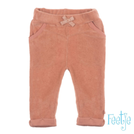 Feetje - Broek Zalm roze - Shells