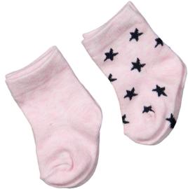 Dirkje baby sokjes roze ster