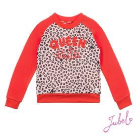 Jubel - sweater AOP panter roze  Funbird