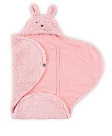 Jollein - Wikkeldeken Bunny pink
