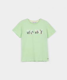 Tiffosi - Licht groene t-shirt meisjes - Becky