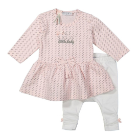 Dirkje 2 pce babysuit dress - so soft little lady