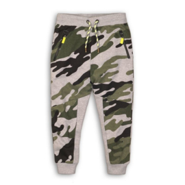 DJ Dutchjeans jogging broek army green + aop - Dangerous