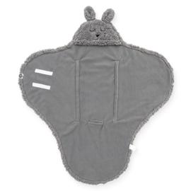 Jollein - Wikkeldeken Bunny storm grey