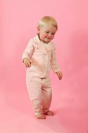 Ducky Beau baby vestje Blushing Melange