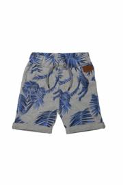 DJ Dutchjeans short on aruba met palmbomen print