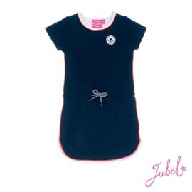 Jubel - Marine blauwe jurk Funbird