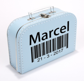 Kinderkoffertje ♥ Barcode