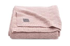 Jollein - Deken - River knit pale pink