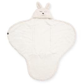 Jollein - Wikkeldeken Bunny off-white