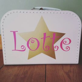 Kinderkoffertje ♥ ster