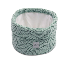 Jollein - Mandje River knit ash green