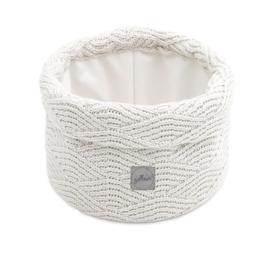 Jollein Mandje River knit cream white