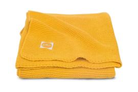 Jollein - Deken - Basic knit ocher