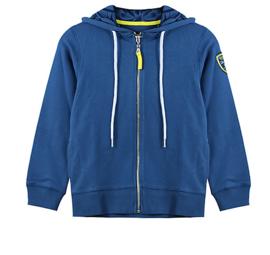 Vinrose blauwe vest PIERRE