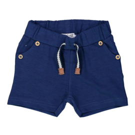 Dirkje baby jogging short indigo blue - So soft king of the sea