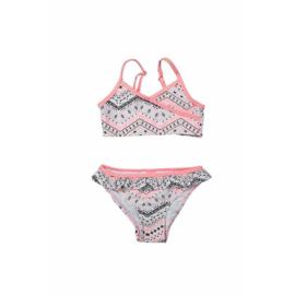 DJ Dutchjeans bikini love pink met zigzag print