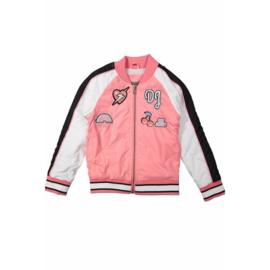 DJ Dutchjeans bomberjack love pink