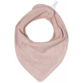 Little Dutch bandana slab - pure - pink melange