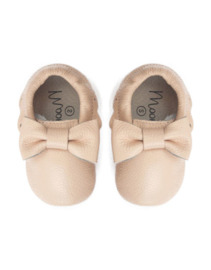 Moon boots Boho Bow Moccasins - Peach