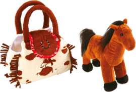 Pony in een tasje