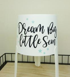 """Nachtlampje met naam """"Dream Big"""""""