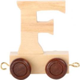 Lettertrein - letter F
