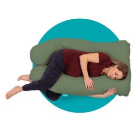 Mjuka - Zwangerschapskussen | Comfortkussen Soft Cotton Green