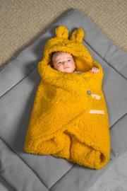 Jollein - Wikkeldeken Bunny mustard
