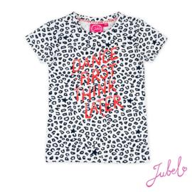 Jubel - T-shirt AOP wit Funbird