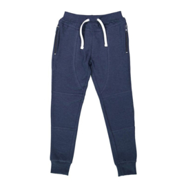 DJ Dutchjeans jogging broek navy melange - Adventurous journey