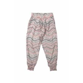 DJ Dutchjeans broek love pink met zigzag print